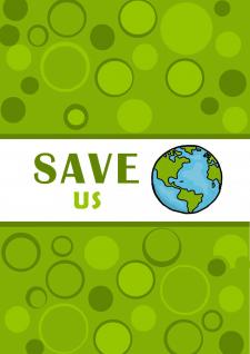 Екологично-агитационный плакат