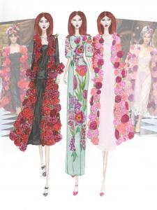 Иллюстрация к показу Dolce & Gabbana