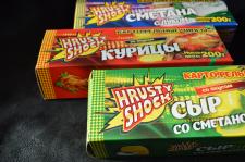 """Разработка упаковки для линейки чипсов """"Хрустишок"""""""