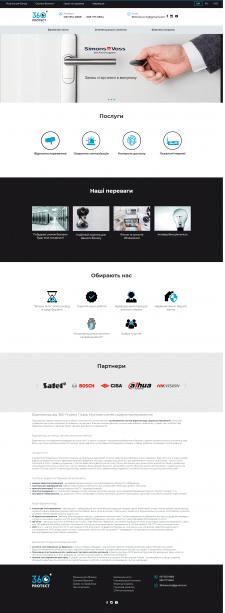360 view - системы видеонаблюдения - сайт под ключ