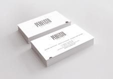 Визитки для дизайн студии PERFECTO