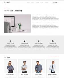 Готовый веб сайт