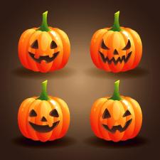 Набор тыкв  к Хэллоуину