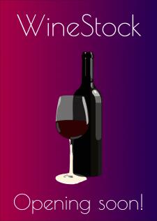 Флаер винного магазина