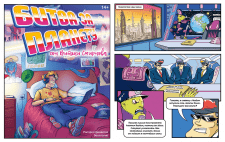 Пара страниц комикса