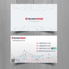 Визитка для technopower.com.ua