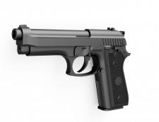 3D модель пистолета Taurus92