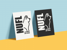 Logo зоомагазина NUFL