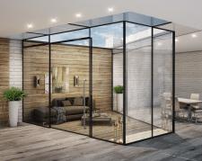 """Визуализация """"стекляшки"""" для фирмы Glass Structure"""