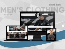 Online store men's clothing