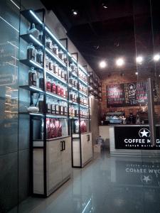 Кофейня CoffeeMagic в Терре (г. Днепр)