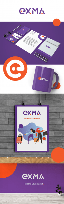 логотип для компании EXMA