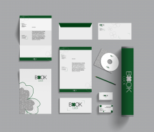 """Book Luck"" - logo design and branding"