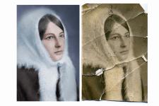 реставрация фото и раскрашивание