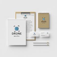 Фирменный стиль для фирмы DroneWorks
