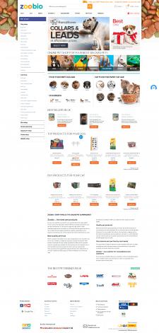 Западный интернет-магазин зоотоваров ZooBio