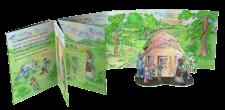 Детская книжка с элементами для трехмерной сборки