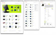 Дизайн для сайта Oranger.com.ua