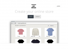 Интернет площадка для продажи товаров