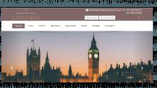 Сайт для бізнес поїздок в Лндон