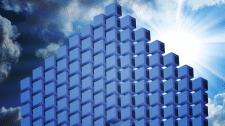 """Логотип """"стены"""" воздушного здания"""
