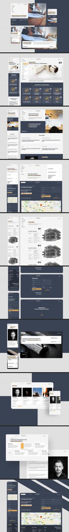Lubina Engineering Корпоративный Сайт