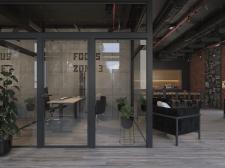 Визуализация офиса