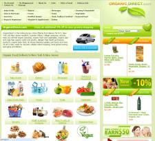 Магазин по продаже здорово пищи