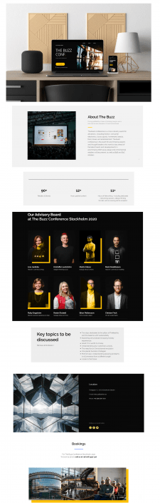 The Buzz conference | Website