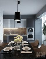 Дизайн-проект 1к квартиры
