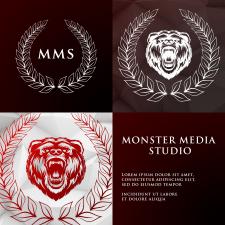 Логотип Monster Media