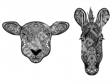Иллюстрация | Раскраски для взрослых
