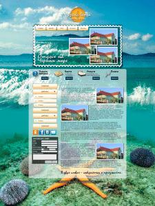 Сайт-визитка для гостевого дома.