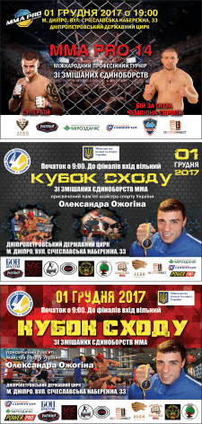 Кубок Сходу, MMA Pro 14