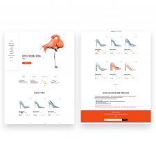 Прототип интернет-магазина обуви