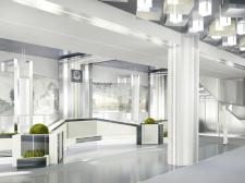 Дизайн интерьера вестибюля института им.Каразина  (Зона отдыха)