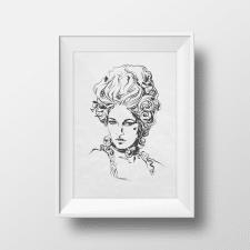 Арт портрет Вектор