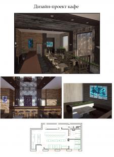Дизайн-проект кафе