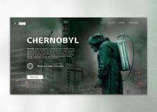 Chernobyl HBO. Concept.
