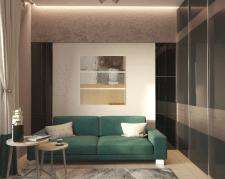 Современный интерьер гостевой комнаты