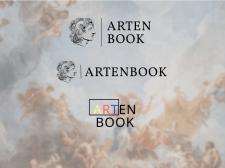 Логотип для конкурса онлайн-галереи Artenbook