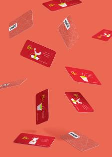 """Дисконтные карточки ресторана """"YOSHI"""""""