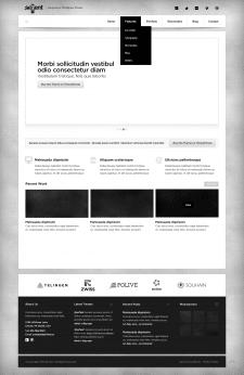 Адаптивный сайт (Sevent)
