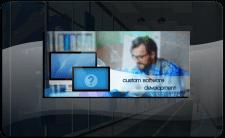 Баннер Custom Software Development
