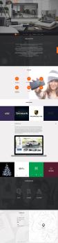 Дизайн сайта для QRA Studio