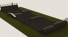 Визуализация и проектирование скейт-парка