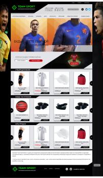 Интернет каталог  спортивной одежды OpenCart