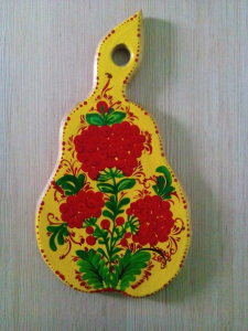 Петриковская роспись(по дереву)