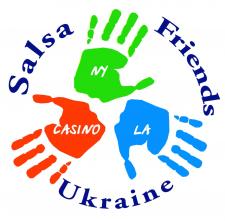 Логотип для Salsa вечеринок в кафе Friends