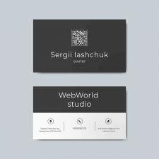 Business card for Sergii Iasgchuk
